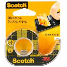3M SCOTCH - NASTRO BIADESIVO - 12MM X 6,3M