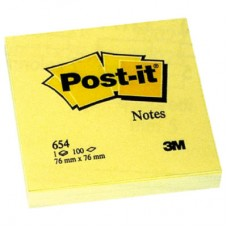 3M 654 POST-IT GIALLO 76X76