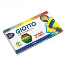 GIOTTO SUPERMINA MATITE COLORATE 12 PZ