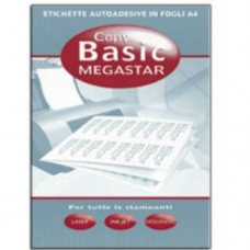 MEGASTAR SCAT.700 ETICHETTE PER LASER 190X38,7