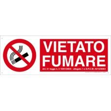 VIETATO FUMARE AGGIUNTIVO CONF. 15PZ.