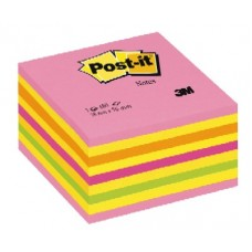 3M 2028NP POST-IT CUBO ROSA NEON