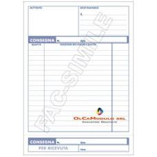 BLOCCO CONSEGNE 170X240 100FG CF.5 USO MANO