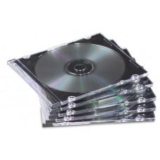 JEWEL CASE X CD/DVD SLIM NERO