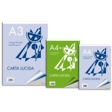 BLOCCO CARTA LUCIDA A4 PLUS 10FG