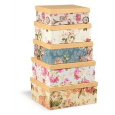 NIJI SET 6 BOX IN 6 MISURE STRIPES