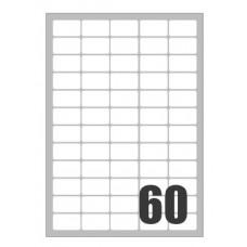 SCATOLA 6000 ETICHETTE X LASER 37,5X23,5
