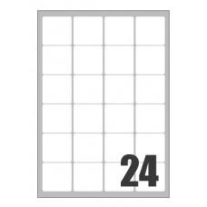 SCATOLA 2400 ETICHETTE X LASER 47,5X46,5