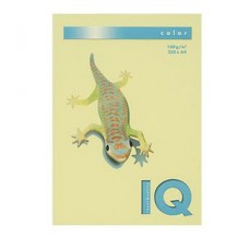 IQ CARTONCINO FOTOCOPIE GIALLO TENUE  GR.160 A4   FG.250