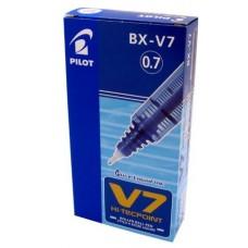 PILOT HI/TECPOINT V7 ROLLER CONF.12 PEZZI BLU