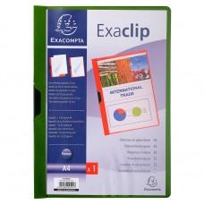 CARTELLINE DI PRESENTAZIONE PVC EXACLIP CAPACITà 30 FOGLI - A4