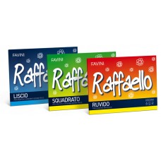 ALBUM RAFFAELLO 240X330MM 100GR 20FG QUADRO 5