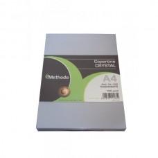 METHODO COPERTINE A4 PVC TRASPARENTI PER RILEGATURA 180 MICRON