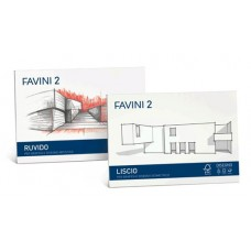 FAVINI 2 ALBUM DISEGNO LISCIO 33X48 10 FG DA 110GR.
