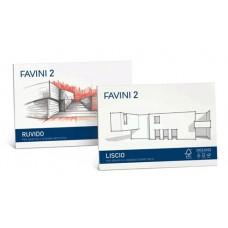 FAVINI 2 BLOCCO RUVIDO 33X48 10 FG DA 110GR