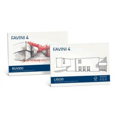 FAVINI 4  ALBUM DISEGNO LISCIO 33X48 20 FG DA 220GR