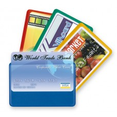 SEI CARD 1 COLOR PORTA CARTE DI CREDITO CF.5 PZ. COLORI ASSORTITI