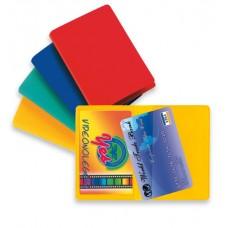 SEI CARD 2 COLOR PORTA CARTE DI CREDITO CF.5 PZ. COLORI ASSORTITI