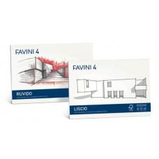 FAVINI 4 ALBUM DISEGNO RUVIDO 33X48 20 FG DA 220GR