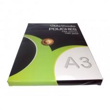 METHODO POUCHES PLASTIFICATRICI 125 MICRON A3