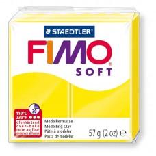 FIMO SOFT PASTA X MODELLARE PANETTO 57GR. GIALLO LIMONE