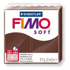 FIMO SOFT PASTA X MODELLARE PANETTO 57GR. CIOCCOLATA