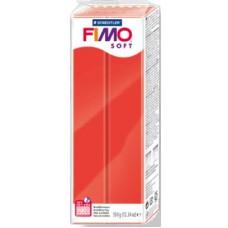 FIMO SOFT PASTA X MODELLARE PANETTO 350GR. ROSSO INDIGO