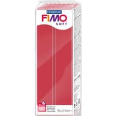 FIMO SOFT PASTA X MODELLARE PANETTO 350GR. ROSSO CILIEGIA