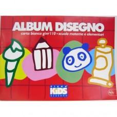 PIGNA KIDS ALBUM DISEGNO 24X33 BIANCO