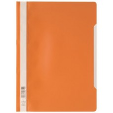 DURABLE CLEAR VIEW A4 CARTELLA AD AGHI CF.50 ARANCIO