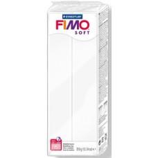 FIMO SOFT PASTA X MODELLARE PANETTO 350GR. BIANCO