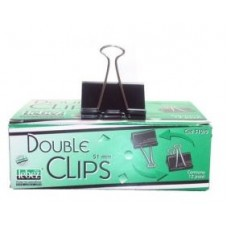510/0 -MOLLA DOUBLE CLIPS 51MM SCATOLA 12 MOLLE