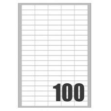 ETICHETTE LASER 37X14 SCATOLA 10000 ETICHETTE