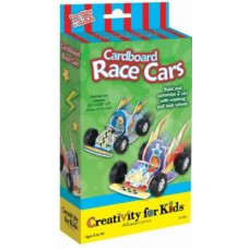 FABER CASTELL - CARDBOARD RACE CARTS