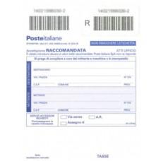 MODULO ACCETTAZIONE RACCOMANDATE ITALIA CONF.500 PEZZI