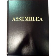LIBRO ASSEMBLEA NUM.1/400 A FOGLI FISSI