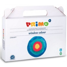 CMP TEMPERA WINDOW COLOUR VALIGIA 7 COLORI 80ML