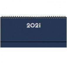 PLANNING 2019 SETTIMANALE GOMMATO 28.8X11.7 BLU