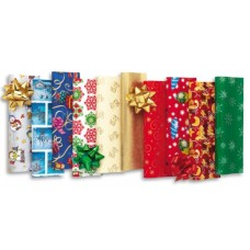 CARTA REGALO 70X100 CHRISTMAS BLOCCO 20FF.