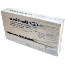 UB157 UNIBALL MICRO EYE 0.7 CONF.12 PENNE BLU