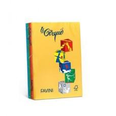 FAVINI LE CIRQUE MIX 5 COLORI FORTI A4 250FF. 160GR