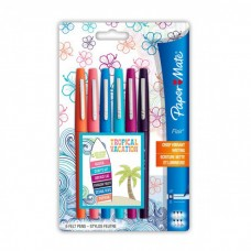 NYLON FLAIR TROPICAL VACATION BLISTER 6 COLORI