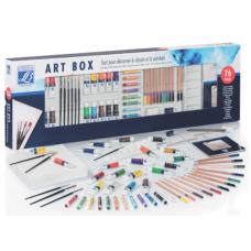 LEFRANC BOURGEOIS  ART BOX 48 PASTELLI