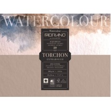 FABRIANO WATERCOLOUR ACQUARELLO STUDIO GRANA TORCHON 20FF. 23*30.5 300GR.
