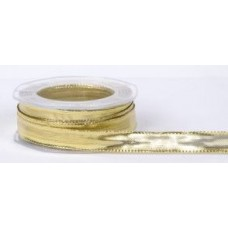 NASTRO LAME' PIATTINA LUREX C/RAME 40MM.*20MT. ORO