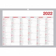 TABELLA SEMESTRALE 48,4*33,4CM. 2022