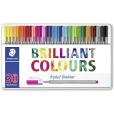 STAEDTLER TRIPLUS FINELINER CF.30 COLORI BRILLANTI ASSORTITI