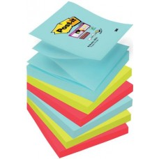 3M SUPER STICKY Z-NOTES MIAMI CF.6 COLORI ASSORTITI