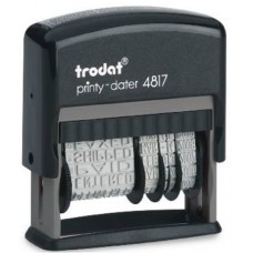 TRODAT 4817 PRINTY DATARIO POLINOME AUTOINCHIOSTRANTE