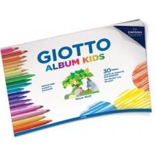 GIOTTO ALBUM KIDS A4 30FF 90GR GRANA FINE